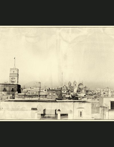 Title: Cadiz #1 Material : Photo-Chemical on Archival Giclee, Float Mounted and framed (limited edition) Dimensions : 75cm X 48cm
